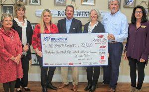 Big Rock Charity Check