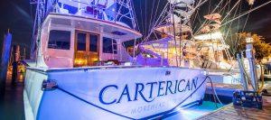Charter Boats at Night