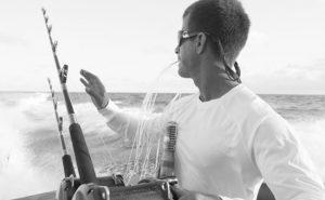 Fisherman Watching Rod